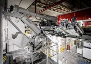 K1600 216927 Pre production of the new Volvo XC40 in the manufacturing plant in Ghent