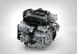 K1600 124744 Drive E 4 cylinder petrol engine T6 Back