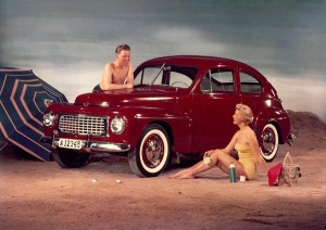 K1600 57065 Volvo PV444 Buckel Volvo 1956