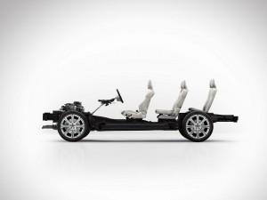 K1600 149322 Der neue Volvo XC90 skalierbare Produkt Architektur SPA