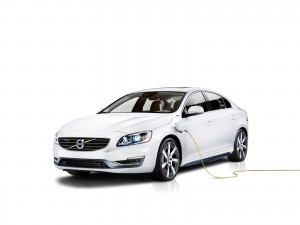 K1600 143375 Volvo S60L PPHEV Petrol Plug in Hybrid Electric Vehicle Concept Car