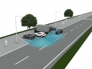 K1600 213027 Volvo XC40 Cross Traffic Alert mit automatischer Bremsfunktion