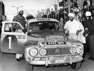 K1600 161287 The Singh brothers and their Volvo PV 544 1965