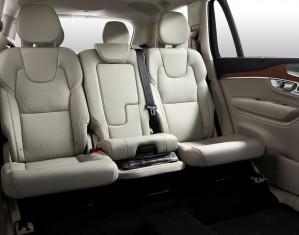 K1600 148265 Volvo XC90 Integrierter Kindersitz