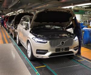 K1600 155255 Pre production of the all new Volvo XC90 in Torslanda