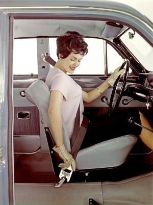 K1600 57430 Volvo P120 Amazon 1959 Dreipunkt Sicherheitsgurt