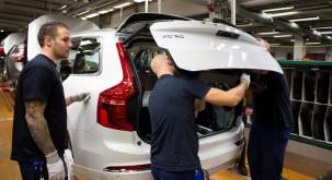 K1600 155248 Pre production of the all new Volvo XC90 in Torslanda