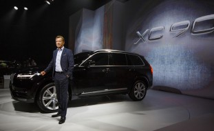 K1600 151111 All new XC90 World Premiere