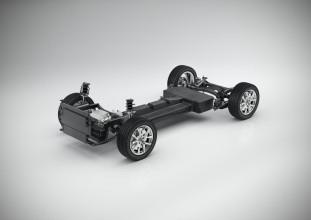 K1600 190831 Volvo CMA Batterie Elektrofahrzeug technische Konzeptstudie