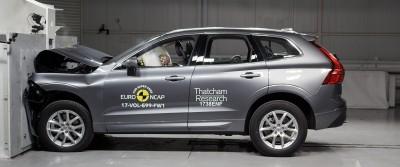 K1600 216614 Neuer Volvo XC60 gl nzt im Euro NCAP Crashtest