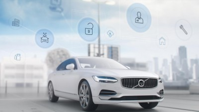 K1600 200845 Volvo S90 exterior with a range of concierge services