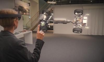 K1600 169755 HoloLens Demonstration von Volvo und Microsoft