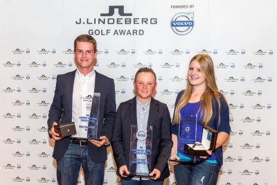K1600 153117 Finalsieger des J Lindeberg Golf Award powered by Volvo 2014