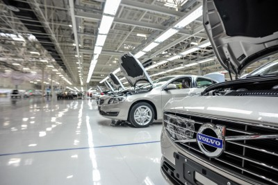 K1600 142512 Production of the Volvo S60L