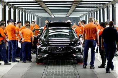 K1600 199978 Vorserienproduktion des Volvo S90 im chinesischen Volvo Werk Daqing
