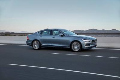 K1600 191747 New Volvo S90 location driving
