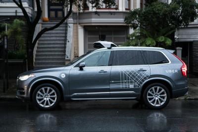 K1600 201685 Uber startet Pilotprogramm mit selbstfahrenden Volvo XC90 in San Francisco