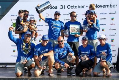 K1600 216363 Volvo Ocean Race 2017 18 Vestas 11th Hour Racing gewinnt Auftaktetappe