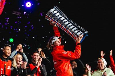 234324 Dongfeng Race Team gewinnt das Volvo Ocean Race 2017 18