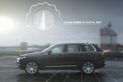 K1600 158870 Volvo Drive Me AutoPilot cloud basierte 3D Digitalkarte