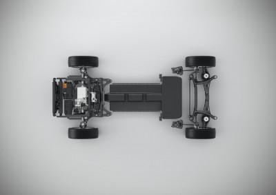 K1600 190826 Volvo CMA Batterie Elektrofahrzeug technische Konzeptstudie
