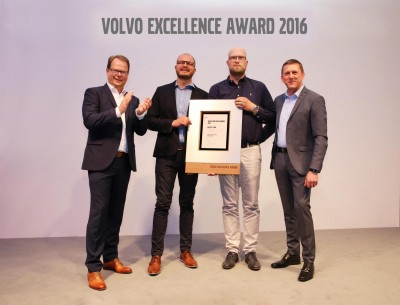 K1600 193904 Verleihung Volvo Excellence Award 2016