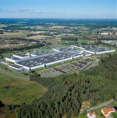K1600 7429 Volvo Motorenwerk in Sk vde Schweden