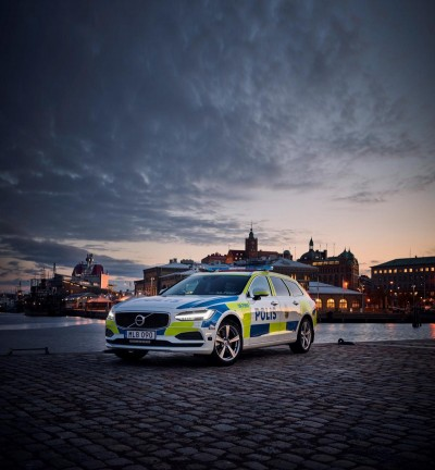 K1600 201331 Volvo V90 as a police car